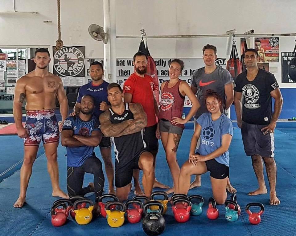 World class Strength & Conditioning program at PTT – Thailand MMA